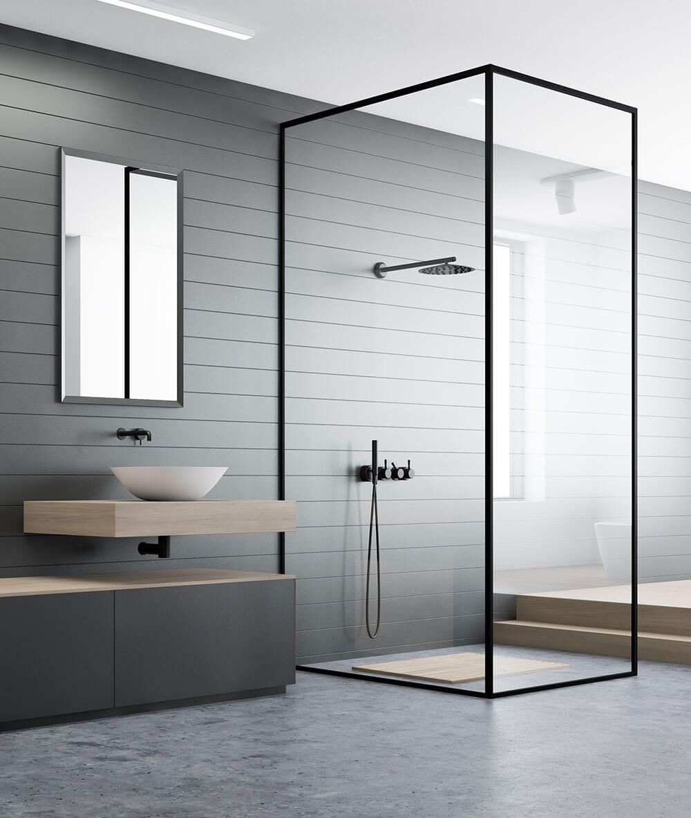 Northern Beaches Modern design bathroom renovation