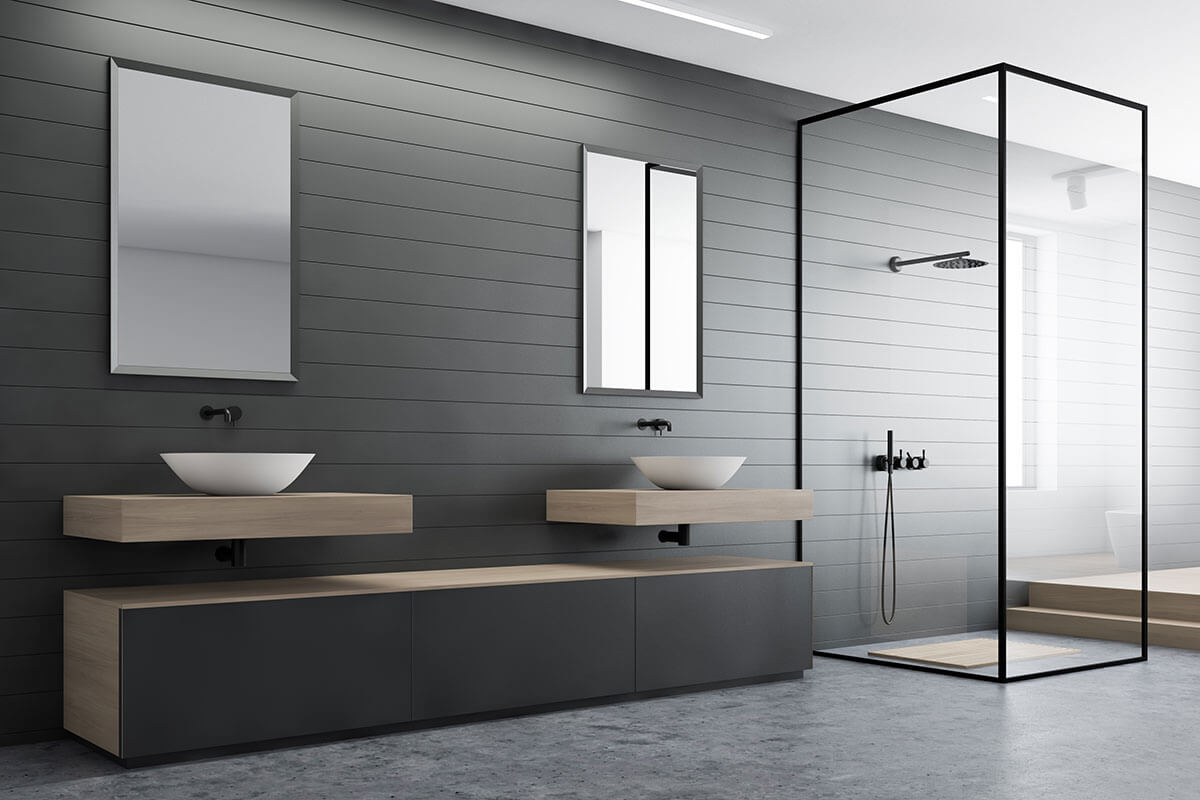 Northern Beaches Modern design bathroom